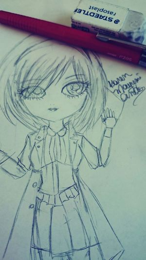 Drawing in another style Drawing Pullip Pullip Dolls Dolla Fanart Big Eyes Big Eyes O.O