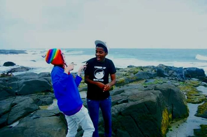 take me back to Kei mouth Easterncape Seaside Rocks And Water Oldfriends MissHer Seeyousoon Holiday Banter Funtimes Vacaciones🌴