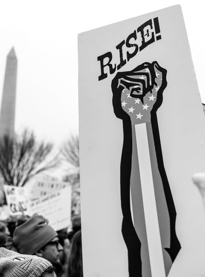 2017 D.C. Democracy Patriotism President Protest The Photojournalist - 2018 EyeEm Awards The Troublemakers Washington Civil Disobedience Close-up Communication Day Demonstration Focus On Foreground Hand Holding Human Body Part Human Hand Human Representation Information Lifestyles Mass National Mall One Person Paper Real People Representation Sign Social Issues Speak Truth To Power Speak Up Against Injustice Text Unrecognizable Person Women's March A New Perspective On Life Capture Tomorrow Human Connection