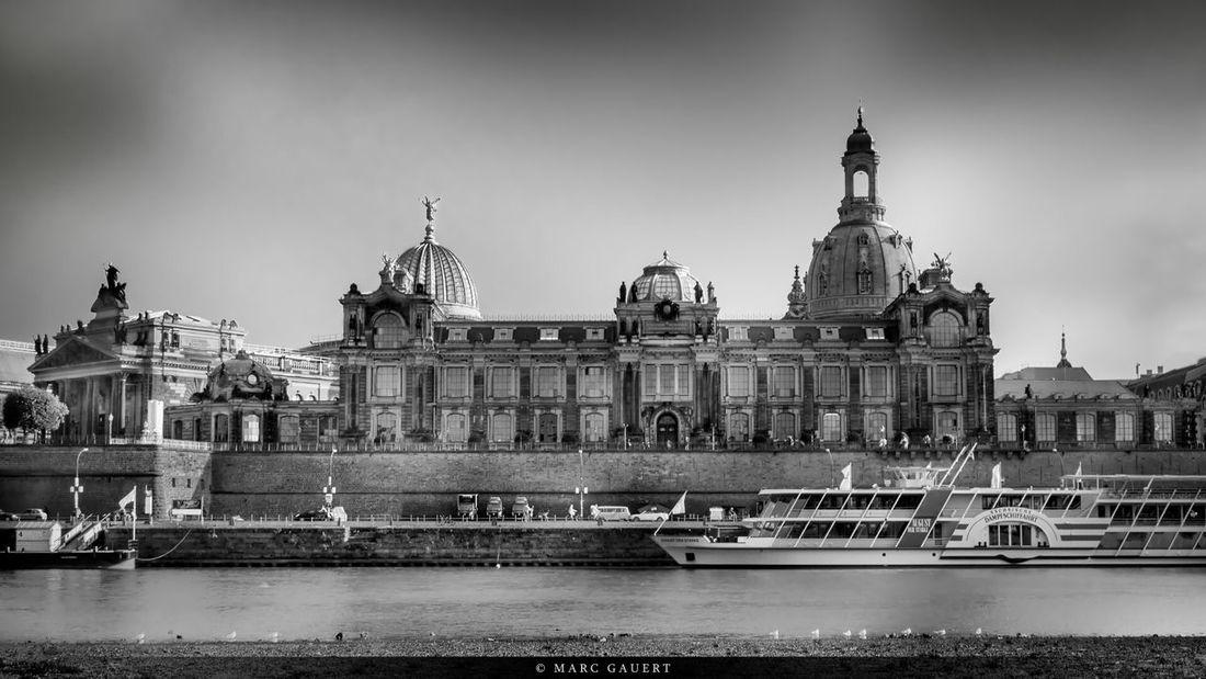Brühlsche Terrasse in Dresden EyeEm Best Shots - Black + White Monochrome Schwarzweiß Schwarz & Weiß Eyeem Best Shots - Monochrome Eyeem Best Shots - Cityscape Cityscapes
