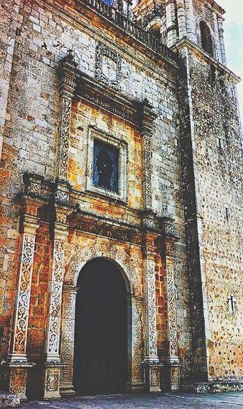 Vacation memory... Trip Holiday Vaction Mayan Riviera Yucatan Mexico Yúcatan Mexico Cathedral Church Valladolid