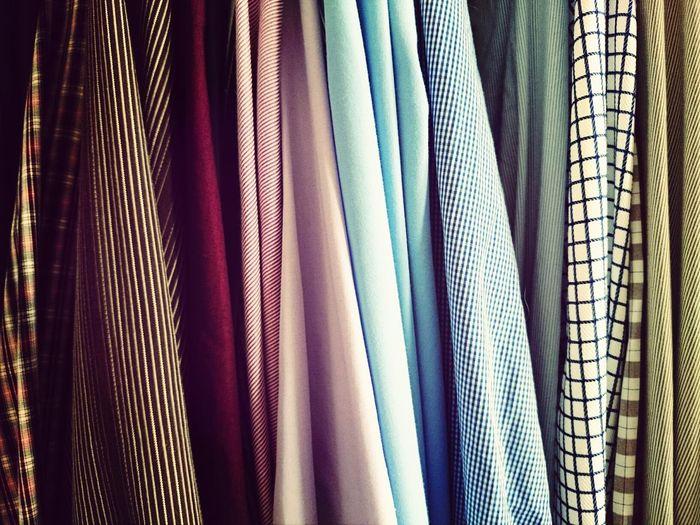 Full frame shot of shirts