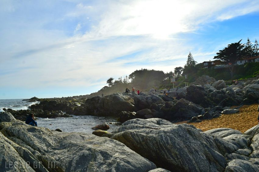 Islanegra Islanegrachile Playa Beach Rocas Rocas Y Mar Pabloneruda Chile Leslie_Gr_In