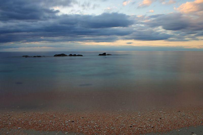 Vacation Holiday Sardinia Water Sky Cloud - Sky Sea Scenics - Nature Beauty In Nature Horizon Horizon Over Water Tranquility Tranquil Scene Sunset Beach Land Nature Idyllic Reflection No People Outdoors Non-urban Scene