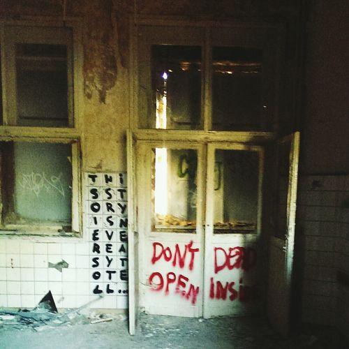 Zombie Hospital Abandoned Places