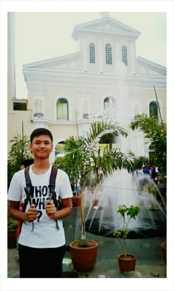 Our Lady Of Manaoag Church Travel Photography Water Fountain Alaylakad2015 Fresh And Clean Handsome