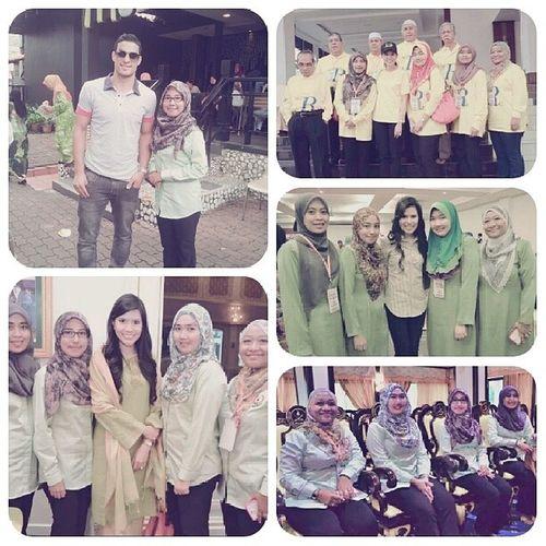 Have a great day with Cik Puan Muda Bahiyah ♥ Ready for the next program ツ TengkuMudaPahang Kuantan IstanaPekan Gambang