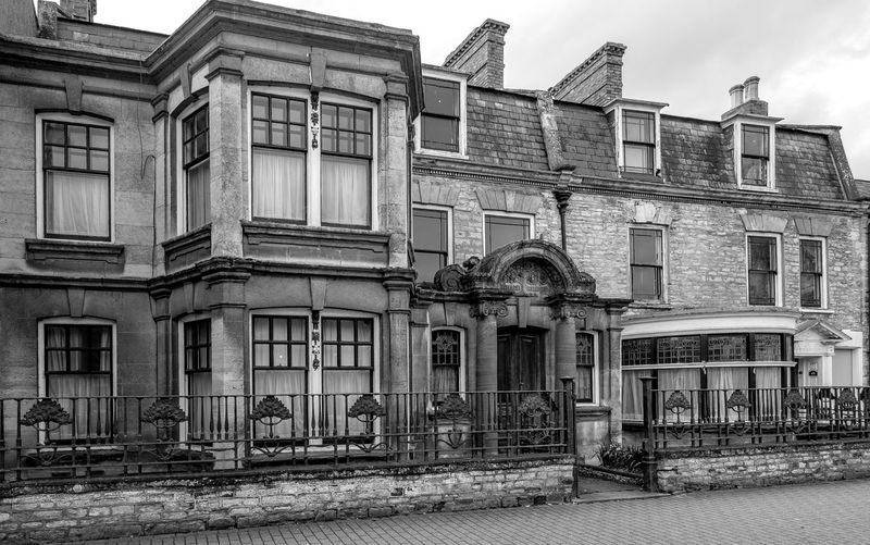 Orchard House, Olney, Buckinghamshire Olney Buckinghamshire Blackandwhite Black And White Monochrome Street FUJIFILM X-T2 High Street Architecture Building Exterior