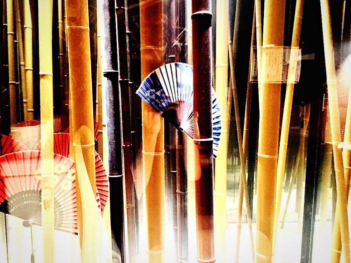 Japanese Culture 扇子 Bamboo Folding Fan