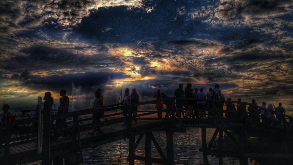 Goodnight EyeEm Beautiful Sunset EyeEm Best Shots - Sunsets + Sunrise Steinhuder Meer In Flammen EyeEm Best Edits Summer2015 Lake View Walking Around Taking Photos Sunset Silhouettes