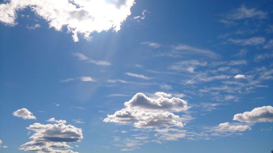 Sky And Clouds Blue Sky Sun