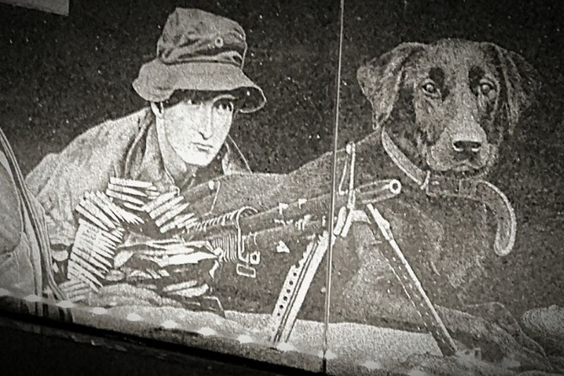 Soldier, & Dog War Memories War Memorial Dogs Soldier, And Dog The ANZACS Lestweforget Anzac Spirit Rip Lest We Forget Art ANZAC Dog Anzaccentenarymemorialwalk Anzac Centenary Memorial Walk Gone But Never Forgotten Anzac Memorial ArtWork Warmemorial Soldiers Man's Best Friend LEST WE FORGET The ANZACS Anzacs Anzacday2016 Art Photography