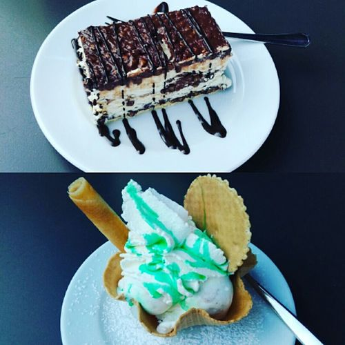 torta cereali e gelato menta e cocco Sweet Food Dessert Food Food And Drink Cake Ready-to-eat Mint COCCO Fruit Icecream Vietrisulmare