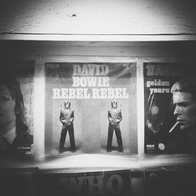 R.I.P. David Bowie Monochrome Blackandwhite