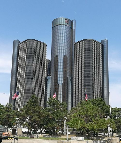 Detroit DetroitMichigan Detroit Michigan DetroitSkyLine Detroitlove USA Michigan Crysler Building Cryslerbuilding Crysler