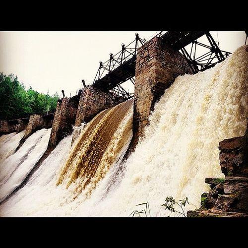 Waterfal Hydro пороги гидроэлектростанция водопад