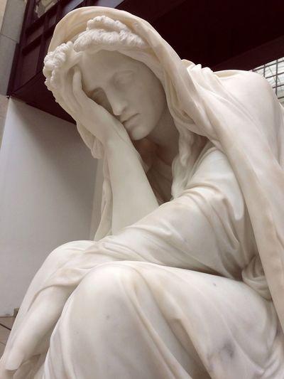 Orsay Museum Sculpture Paris France Art ArtWork скульптура музей Орсе Sad печаль грусть White