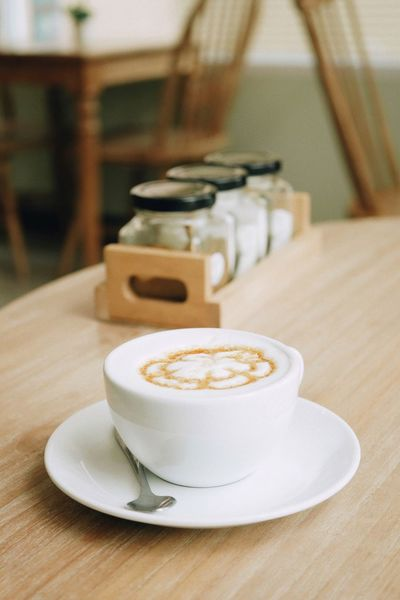 Coffee - Drink Coffee Cup Drink Refreshment Food And Drink Table Close-up Cup Indoors  Cappuccino Freshness No People Latte Day