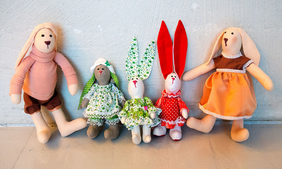 Art And Craft Background Business Finance And Industry Childhood Close-up Cloth Dolls Creative Creativity Creativity Doll Doll Fashion Dolls Fashion Fashion Show Five Dolls Hand Work Human Representation Indoors  Multi Colored Multi Colours Nice Company No People Toy Toys Work