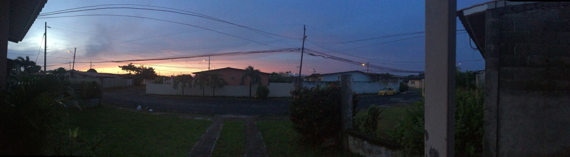 Panoramic Photography Sunset Lovers By Iphone 5s