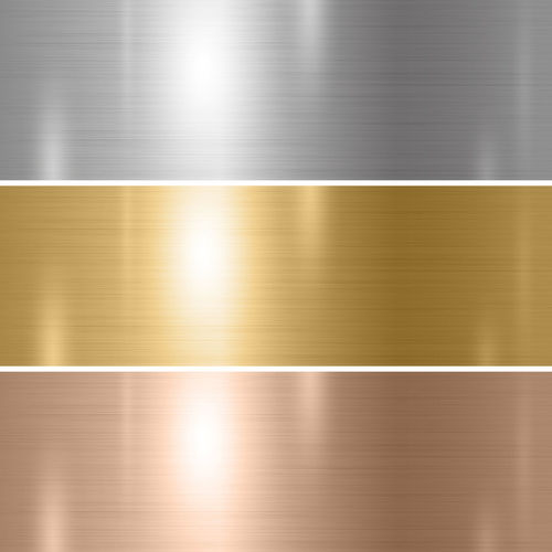 Abstract image of a metallic structure
