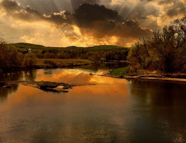 Reflection Water Tree Sky No People Beauty In Nature Nature Lake Sunset Scenics Outdoors Cloud - Sky Day