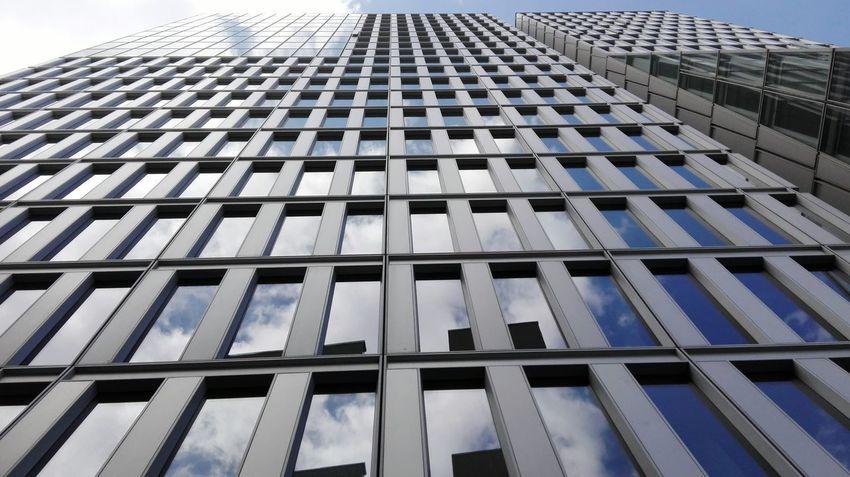 Frankfurt Am Main Skyscraper Architecture Wolkenkratzer Architektur Building Exterior Fassade