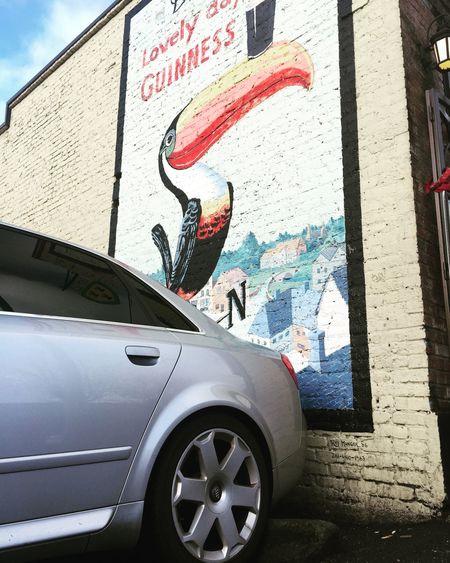 Guinness Audi S4
