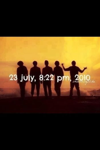 One Band One World Important Date<3