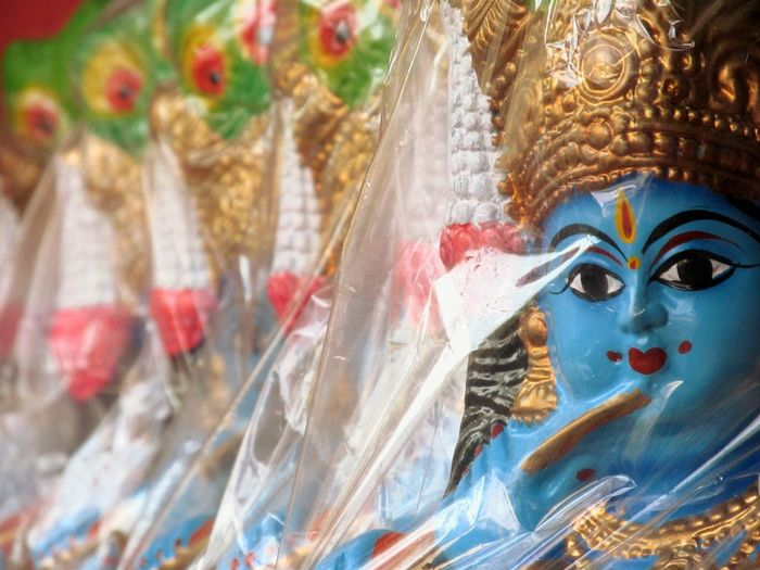 Lord Krishna  Taking Photos Statue Check This Out Eyeem India - Kerala (god's Own Country ) Depth Of Field Devotional Temple Templestreet Gods Indian Gods Gods Art