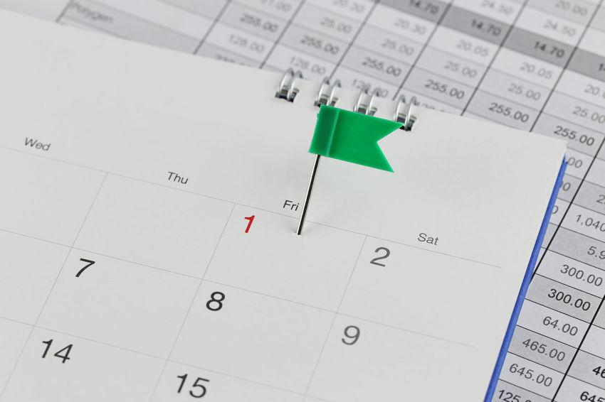 Green Pins to Wildcats on the calendar beside the number red color of one in business concept time and date. Calendar Number Paper Reminder Close-up Indoors  No People Personal Organizer White Color Deadline Text Healthcare And Medicine Time Western Script Planning Copy Space Document Page Selective Focus Blank Wildcats Calendar Date Calendars Business Business Finance And Industry