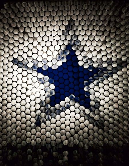 How bout them cowboys Pattern Full Frame Backgrounds No People Close-up Strawcamera Dallas Cowboys Abstract Art Experimental Indoors  In Camera Circles Of Confusion Circles