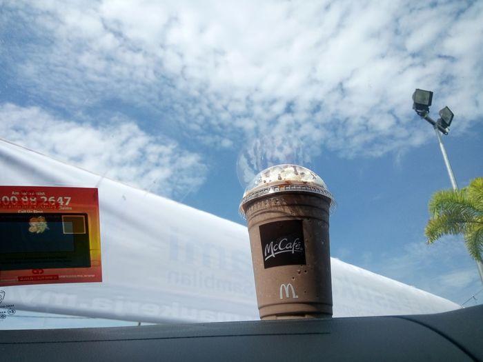 McCafe Cloud - Sky No People McDonald's Mcdonalds Sky Day City Malaysian Food Architecture Outdoors