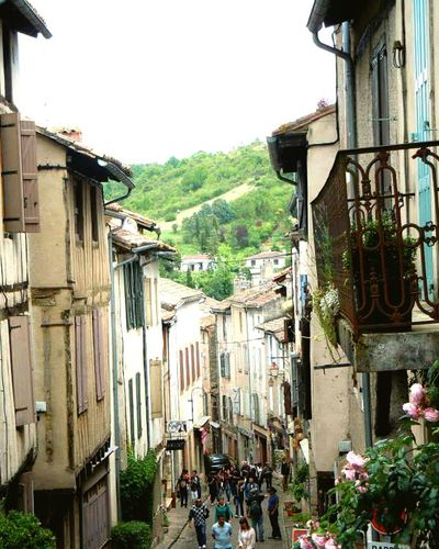 Climbing the village in the sky Cordes-sûr-Ciel Les Pyrenees Frame It! S Qi France Travel Old World Village Open Skies The Street Photographer - 2016 EyeEm Awards Diagon Alley Novice Photography