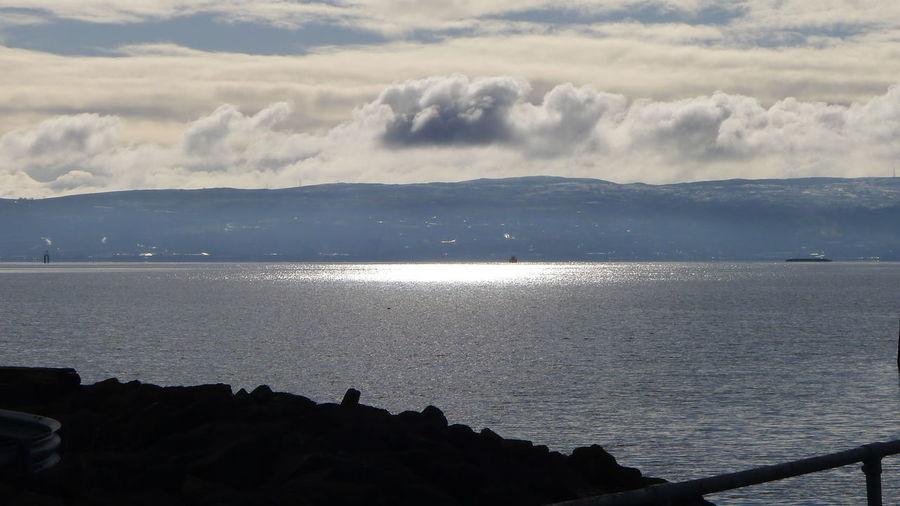 Beach Coastline Horizon Over Water Ocean Outdoors Scotland Sea Seascape Shore Tranquil Scene