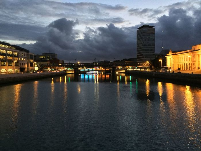 Good evening crazy bridge & sky