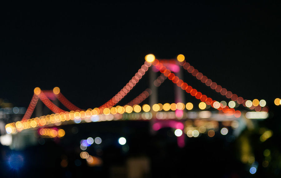 Xiamen Xiamen China Xiamen University Xiamen,China Architecture Bridge - Man Made Structure Built Structure Chain Bridge City Cityscape Connection Copy Space Illuminated Low Angle View Multi Colored Night No People Outdoors Sky Suspension Bridge Transportation