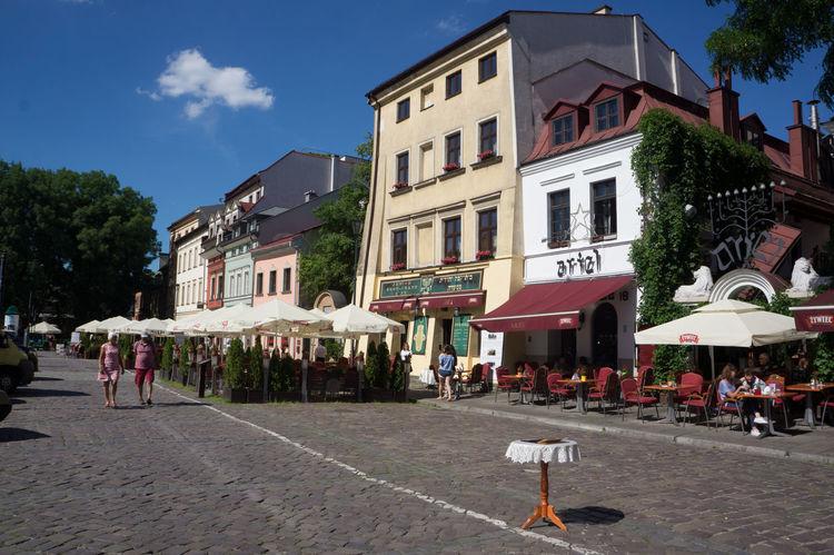 Kazimierz old town Krakow Jewish District Kazimierz Old Jewish Quarter