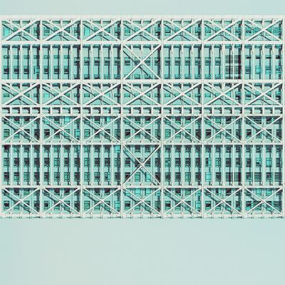 Aerial platform | Plataforma aérea Architecture Abstractarchitecture Straightfacade Pattern