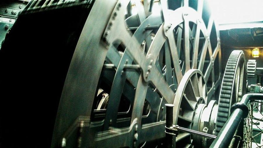 Transportation Close-up Wheel No People Shiny Indoors  History Traditional Vehicle Interior Ship Metal Mechsncical Steam Power Military Engineering Mechanics