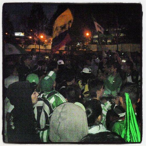 Ultrastyle Bogotaverdolaga Bogotá Losdelsur hooligans atlnacional