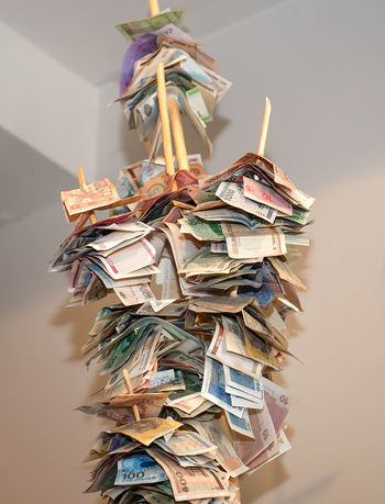 Business Currency Money Tree A Lot A Lot Of Abundance Business Finance And Industry Cash Close-up Coin Coin Tree Concept Dollars Eyeem Money Hanging Large Group Of Objects Money Money Around The World Multi Colored Paper Paper Money Stack Stiff
