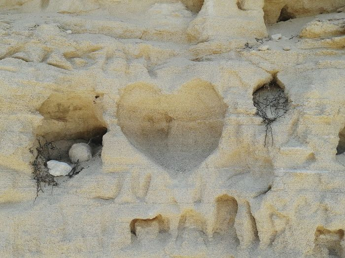 Words In Sand Heart Love Is... Sand