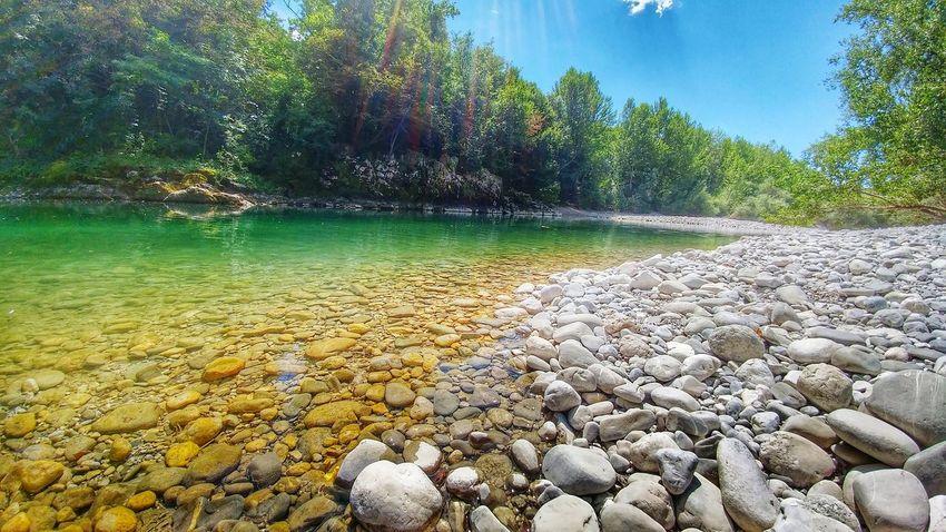 Friuli Venezia Giulia Cividale Natisone Italy Summer River Nature Colour Of Life