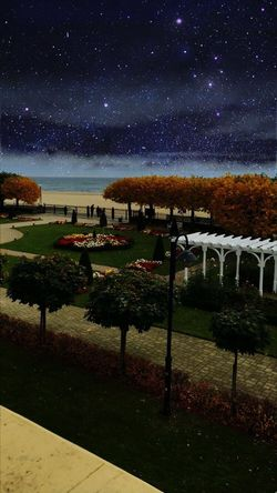 Sopot Night Beauty In Nature Outdoors No People Star - Space Sky Constellation Space