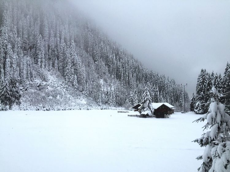Cabin in Tyrol, Austria. Winter Snow Nature Beauty In Nature Tranquil Scene