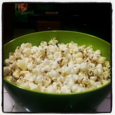 Homemade Popcorn Made By @its_lauramora