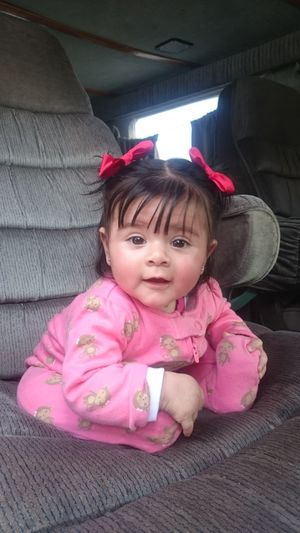 my beloved daughter Fadhila Comarca Lagunera FIM Coahuila, México God Is Good God Is Great Winter Great Colors My Fadhila My Beloved Daughter Fadhila Pink Color One Person Child Cute Childhood Girls Portrait One Girl Only People Sitting Day Outdoors