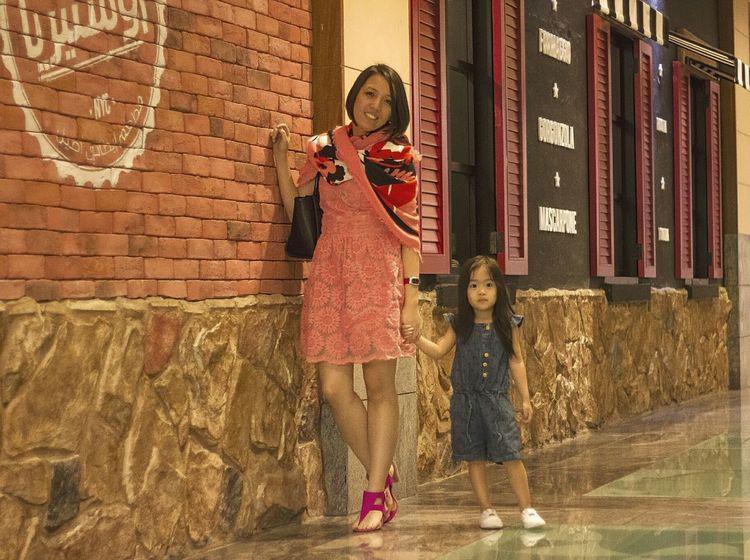 with tita glenda Mydubai UAE Emirates Dubai Eyeem Philippines Tornakya Kidsfashion Baby Girl Babyshop