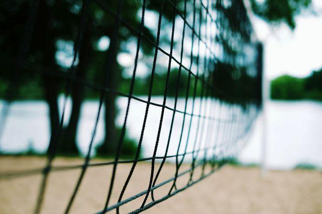Playful weather. Net Volleyball Sport Summer Summertime Summer Vibes